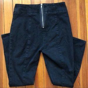 Urban Outfitters BDG Black Zipper Jeans Sz 27